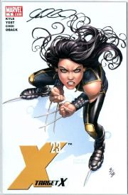 X-23 Target X #1 Dynamic Forces Signed Mike Choi DF COA Ltd 200 Marvel comic book